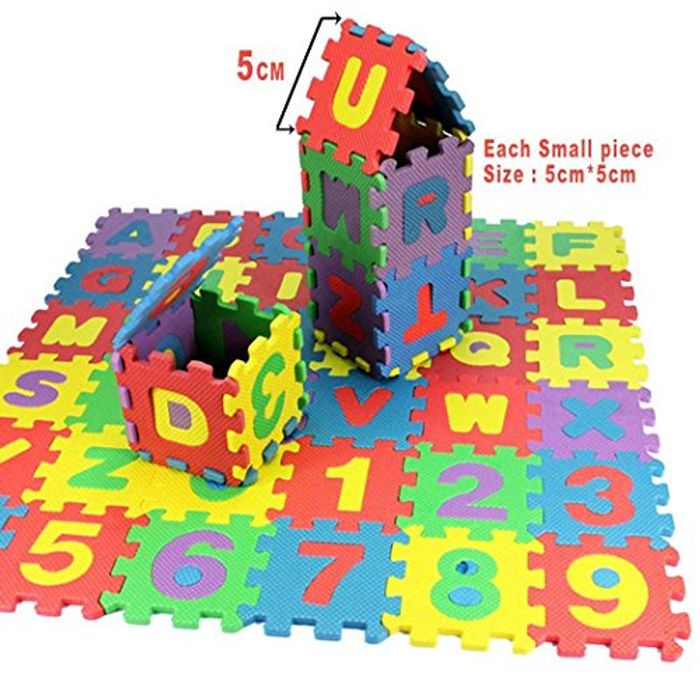 36PCS Baby Kids Toy Puzzle Gift - Only £3.30!