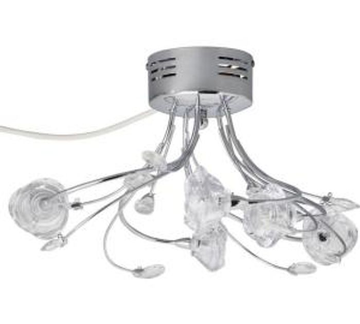 Argos Home Rosa Flower 5 Light Flush Ceiling Fitting Only £24.99