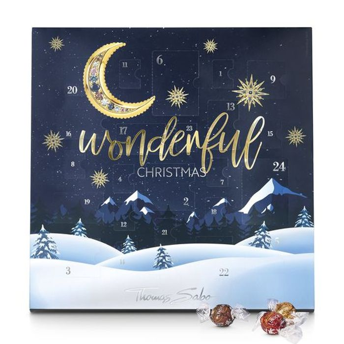 Thomas Sabo Advent Calendar with Lindt Chocolates & Great Prizes