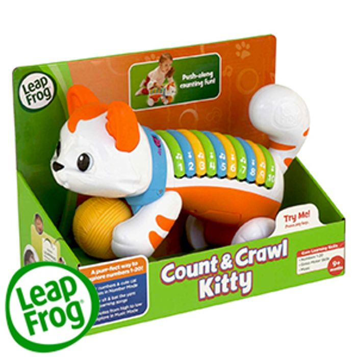 Leap Frog Count & Crawl Kitty