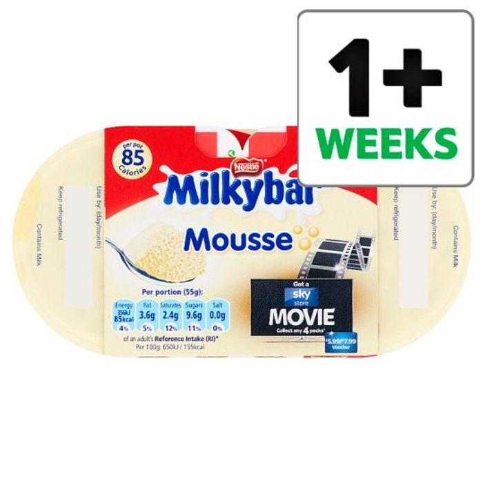 Half Price Nestle Milkybar Mousse