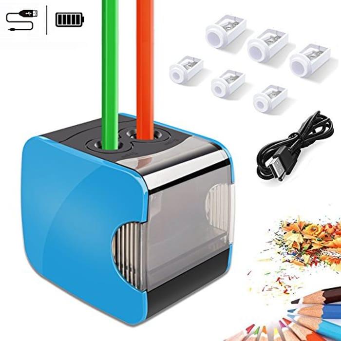 WILWOLF Electric Pencil Sharpeners,
