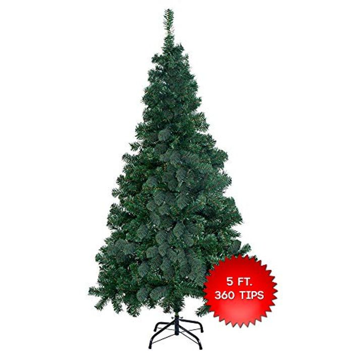 The Twiddlers Premium Artificial Green Christmas Tree 5FT / 150CM Amazon