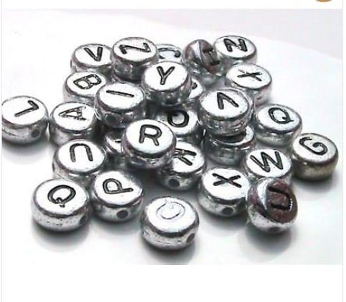 100 Alphabet Beads.