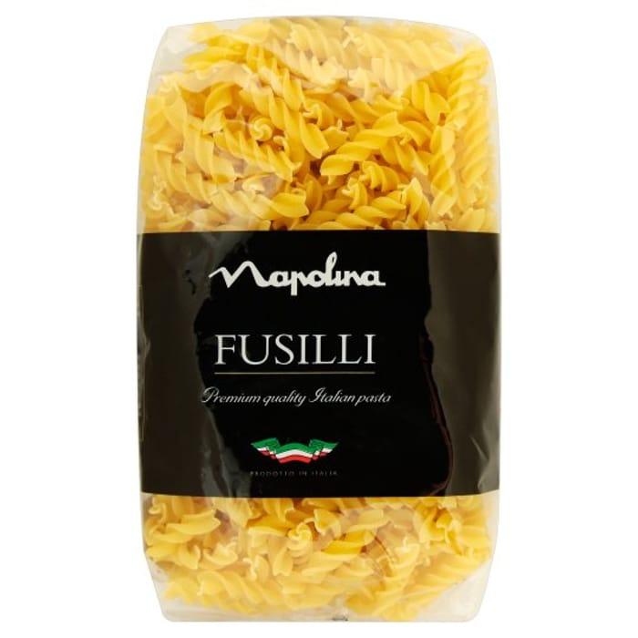 Half Price Napolina Fusilli Pasta 500G