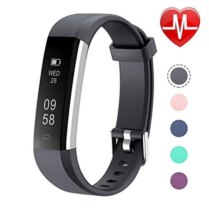 35% off Letsfit Fitness Tracker, Heart Rate Monitor Watch with Sleep Monitor