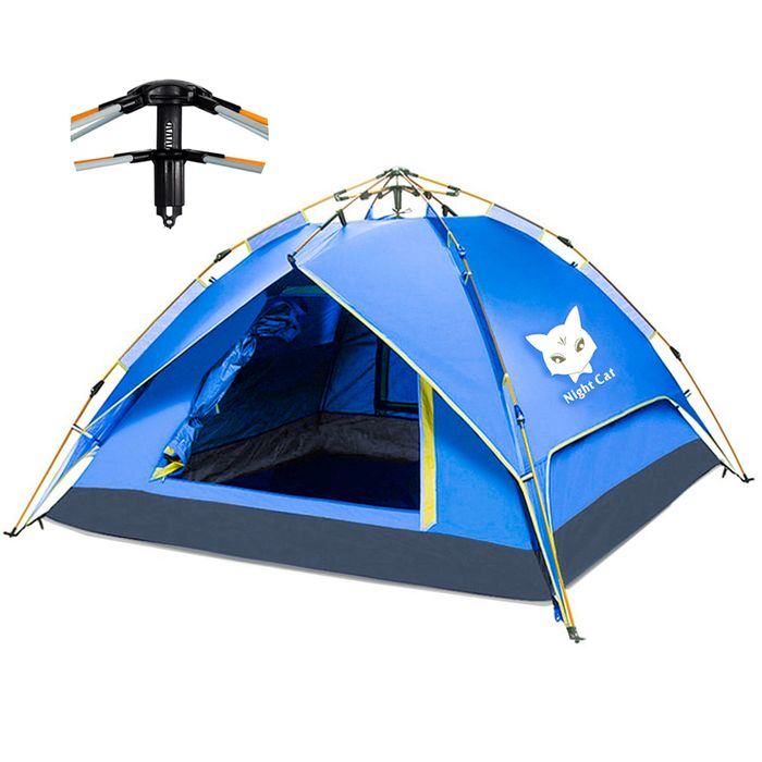 Camping Tent for 2-4 Persons Waterproof Automatic Pop up £49.99