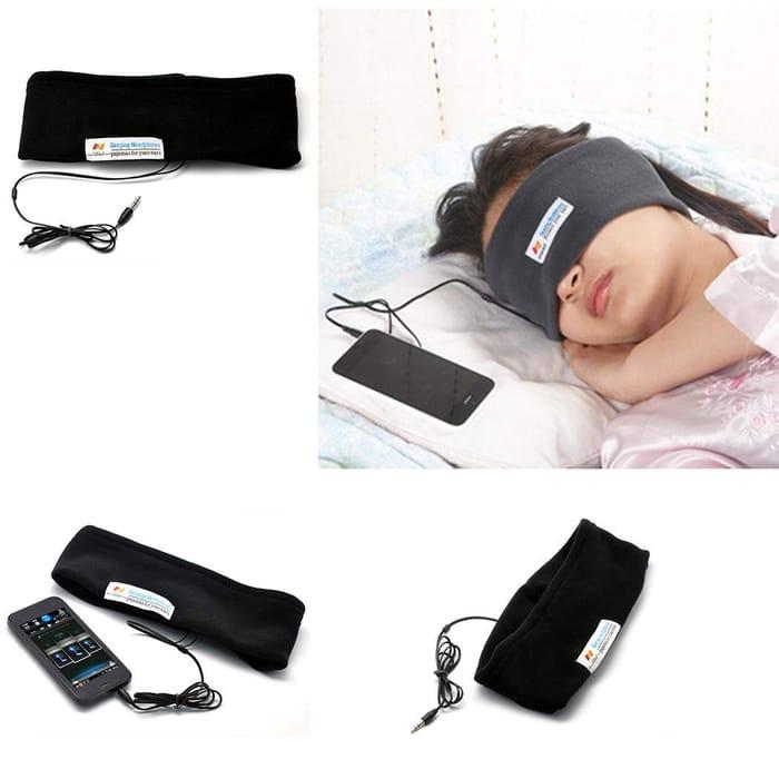 Sleep Headphones w/Eye Mask