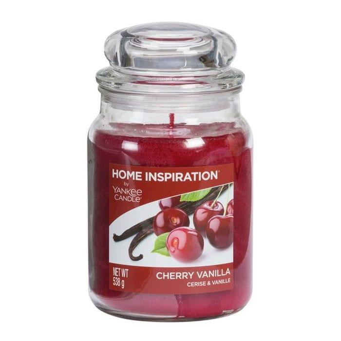Yankee Candle Large Jar Candle - Cherry Vanilla