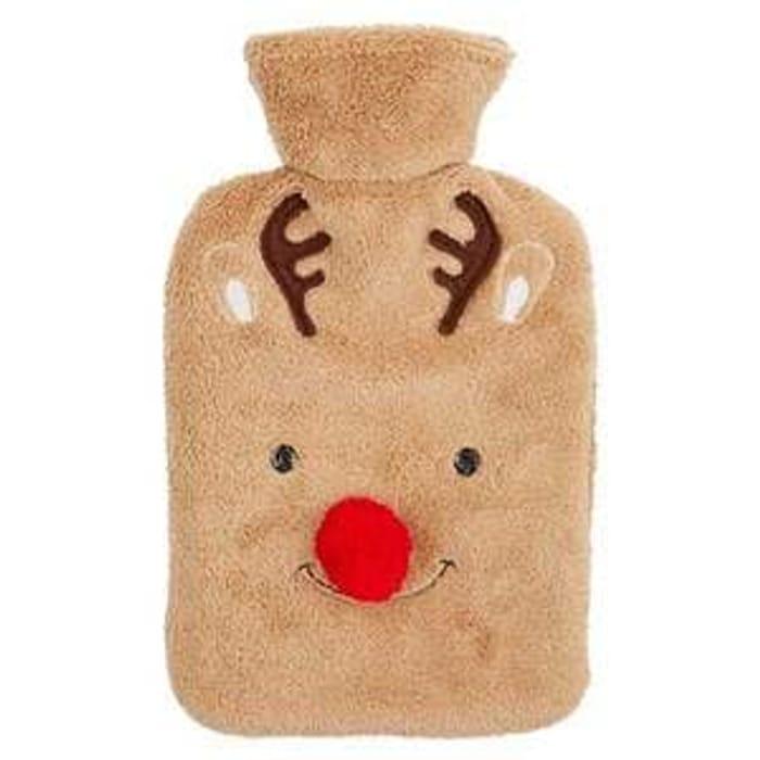 Superdrug Sweet Snuggles Reindeer Hot Water Bottle