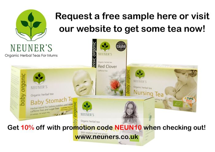 Free Tea Sample for Mums to Be