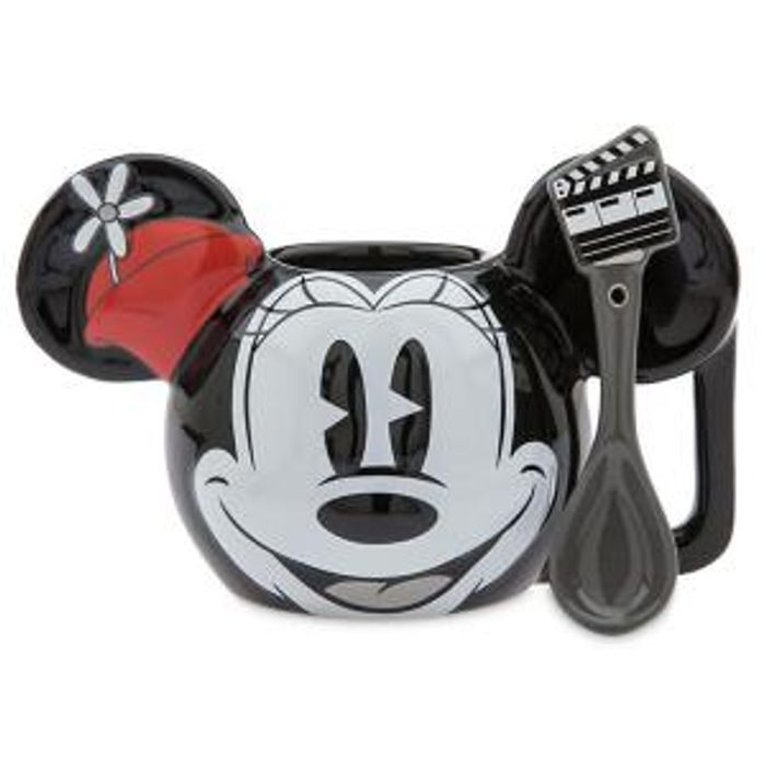 Disney Store Minnie Mouse Mug and Spoon Only £10