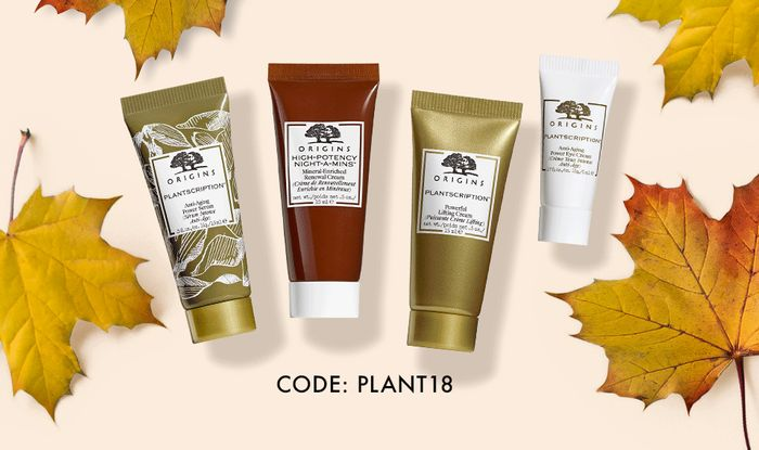 Free Plantscription Cream and Serum plus samples with Purchases over £35