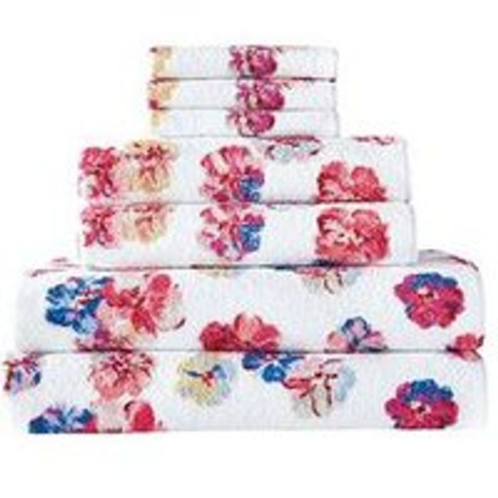 Cath Kidston Guernsey Flowers 7-Piece Towel Bale Free C&C