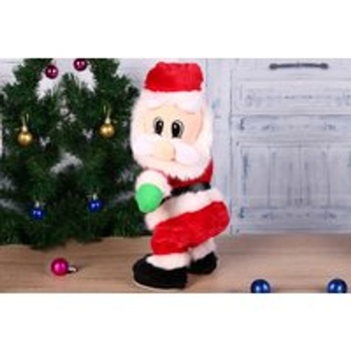 Musical 'Twerking' Santa Christmas Decoration