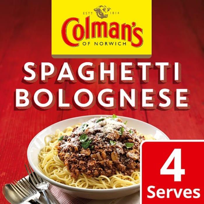 Colman's Spaghetti Bolognese Recipe Mix 44G