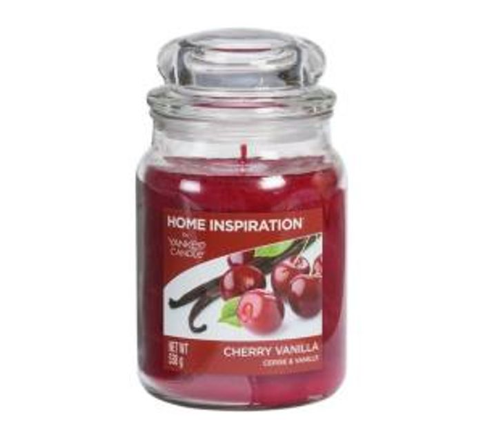 Yankee Candle Large Jar Candle - Cherry Vanilla Only £9