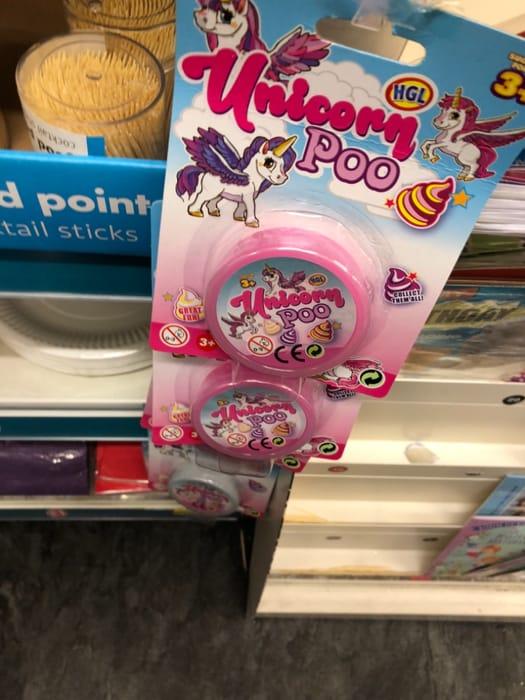Poundland - Unicorn Poo