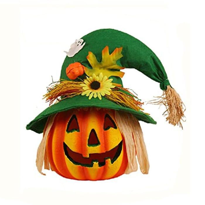 Smiling Face Pumpkin Lantern Halloween Pumpkin Party Light