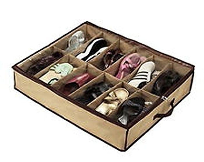Under Bed Shoe Storage Organiser (Free Delivery)
