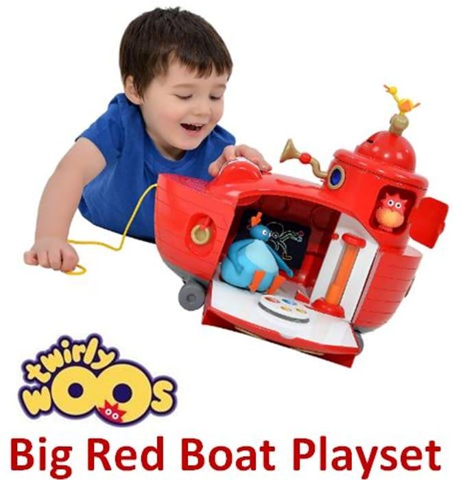 SAVE £10. Twirlywoos Big Red Boat Playset £39.99 at Amazon