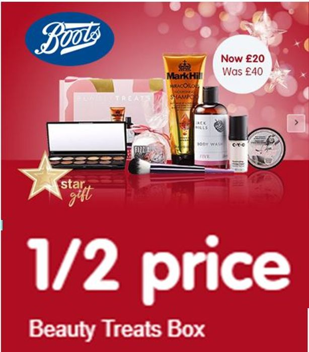 Boots - HALF PRICE BEAUTY TREATS BOX - Limited Stock - Selling Fast
