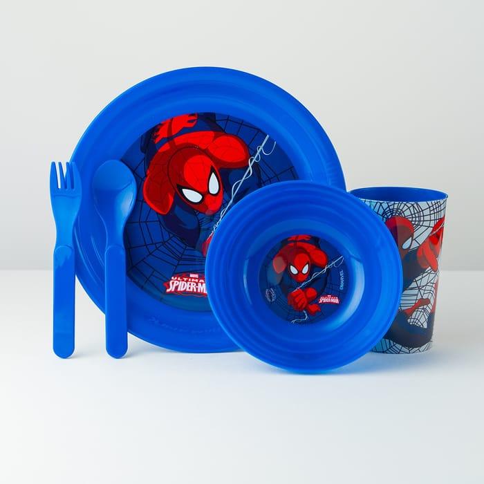 Spider-Man Breakfast Set – 5 Pieces