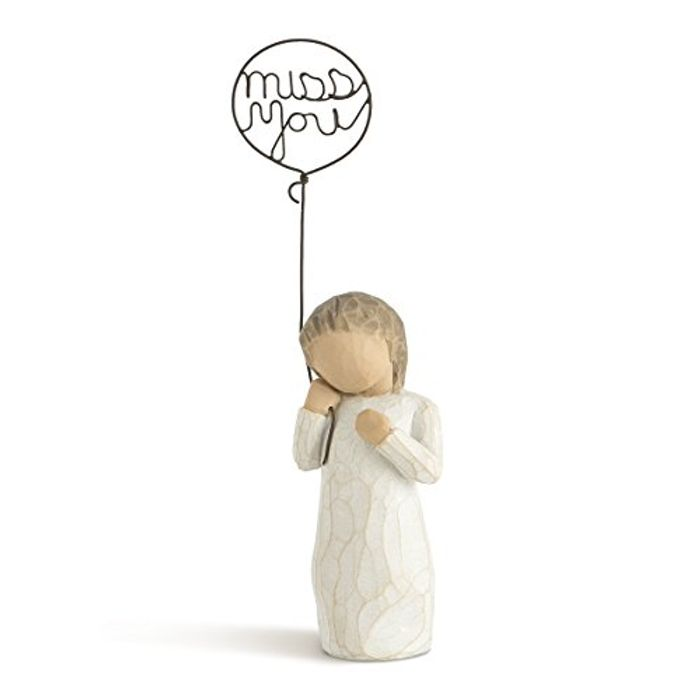 I Miss You. (Ornament by Willow Tree)