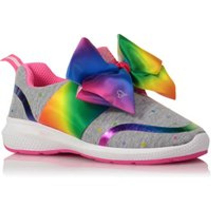 JoJo Siwa Rainbow Bow Pumps Sizes 5jnr
