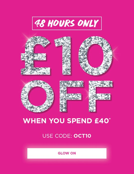 £10 off When You Spend £40 at Glamglow