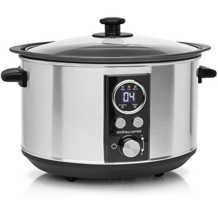 Andrew James Slow Cooker Sizzle to Simmer 3.5L