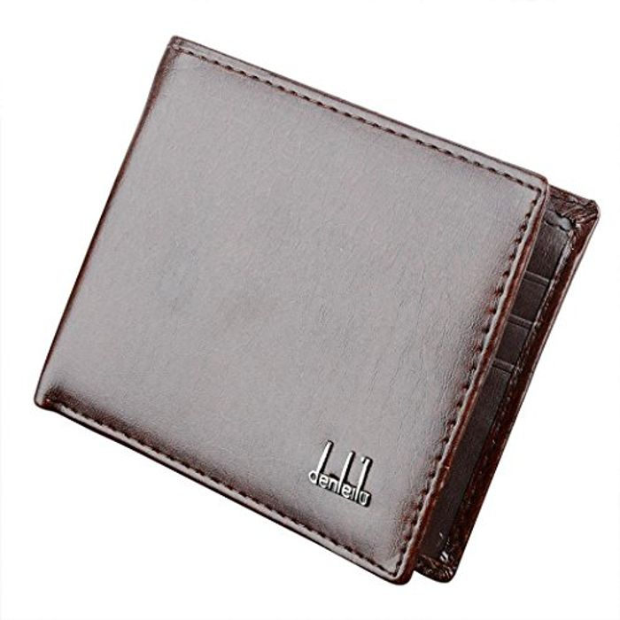 Men's Synthetic Leather Wallet