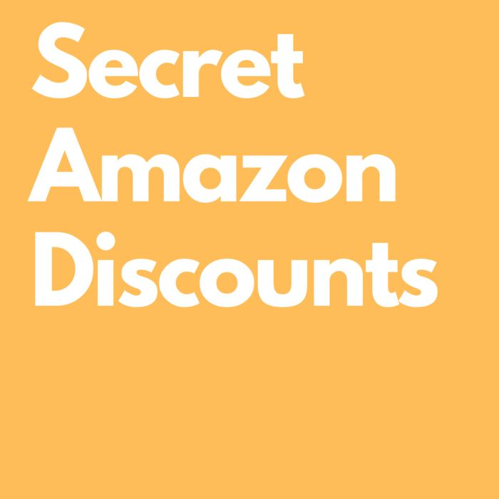 Secret Amazon Discount Pages