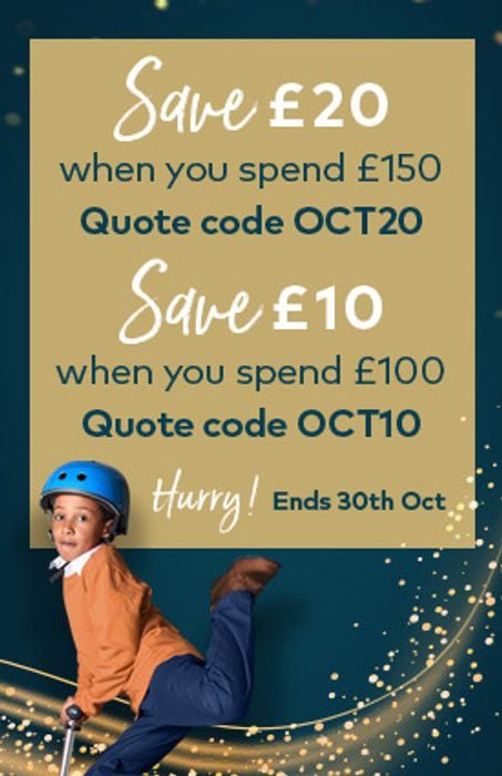 Save £10 with £100 Spend
