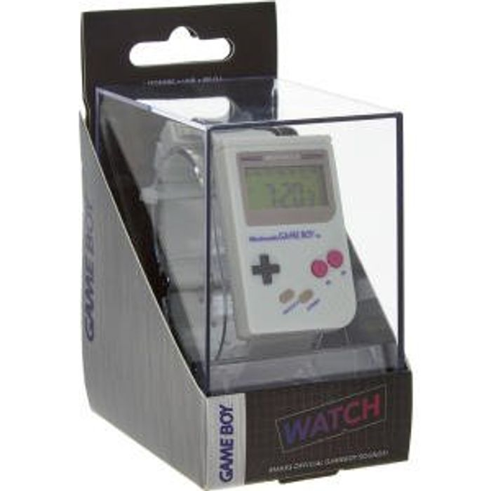 Nintendo Official Grey Gameboy Watch 12 99 At Tk Maxx Latestdeals Co Uk