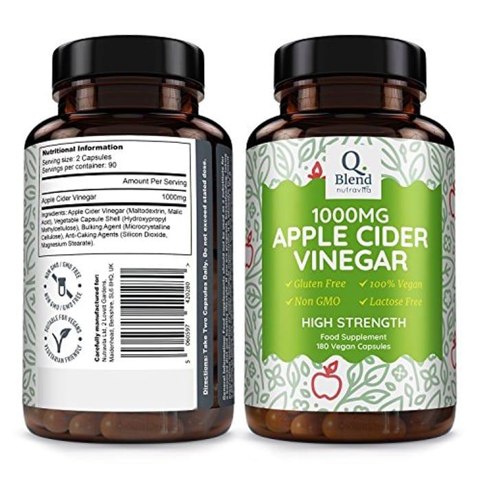 Apple Cider Vinegar Weight Loss Supplement, £2 99 at