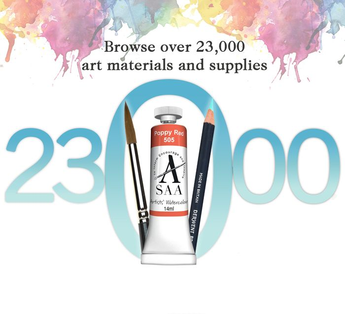 Save £5 When You Spend over £40 at SAA Art Supplies
