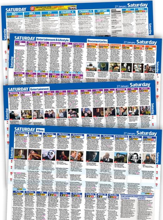Claim Your Free Issue of TV & Satellite Week Magazine