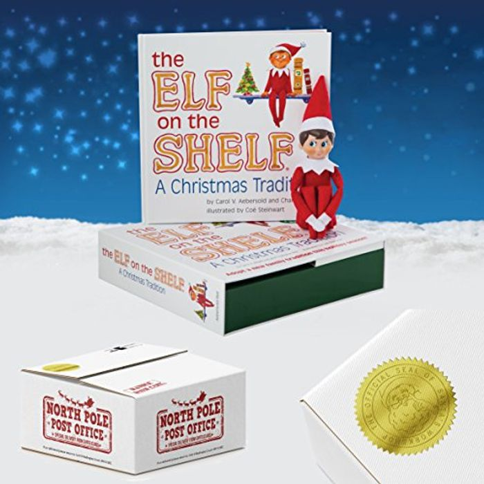 Direct from North Pole Post Office The Elf on the Shelf/® Christmas Tradition Blue-Eyed Boy Scout Elf