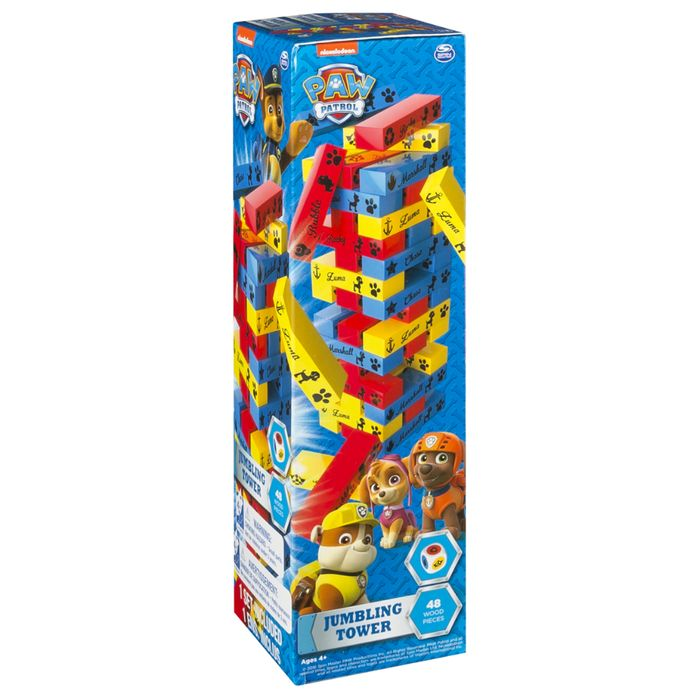 BARGAIN!!! Paw Patrol Jumbling Tower Game at the WORKS