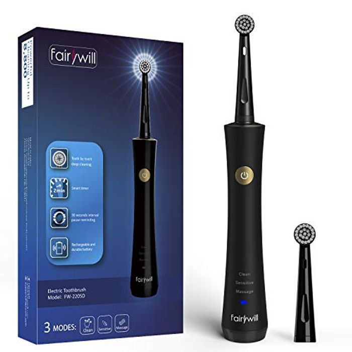 Fairywill Rechargeable Toothbrush - Only £6.40!