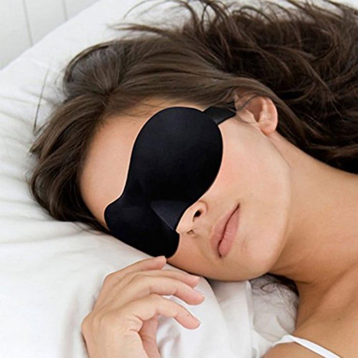 3D Sleep Eye Mask-Black