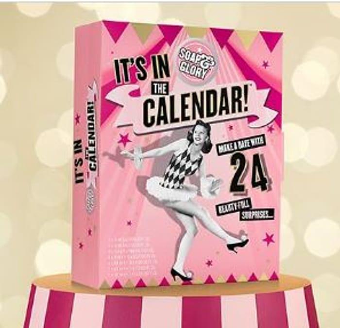 Soap & Glory Advent Calendar 2018 at BOOTS