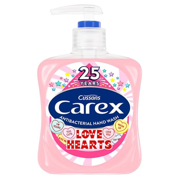 HALF PRICE Carex Love Hearts Handwash 250Ml