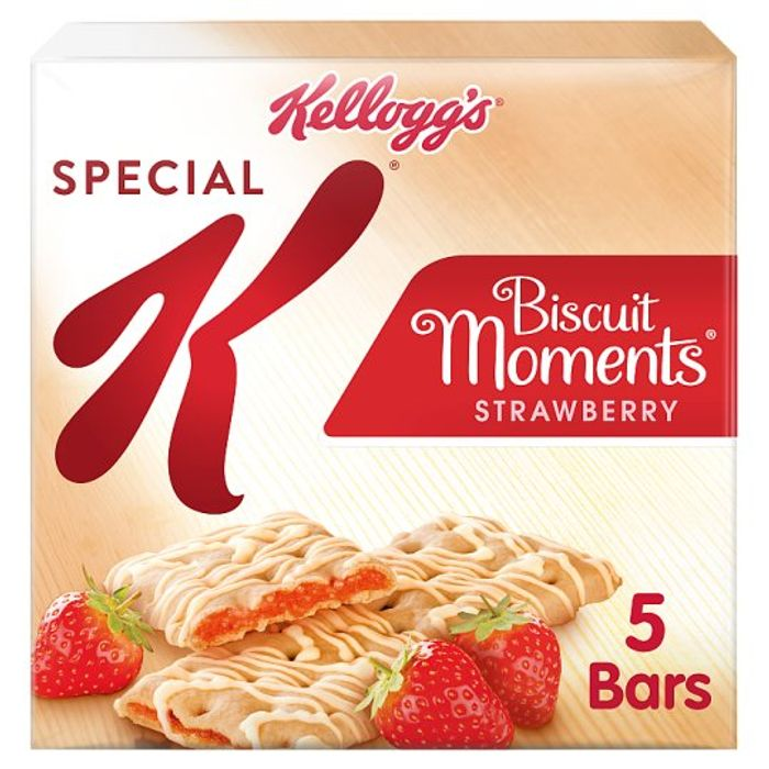 HALF PRICE Kelloggs Special K Biscuit Moments Strawberry 125G