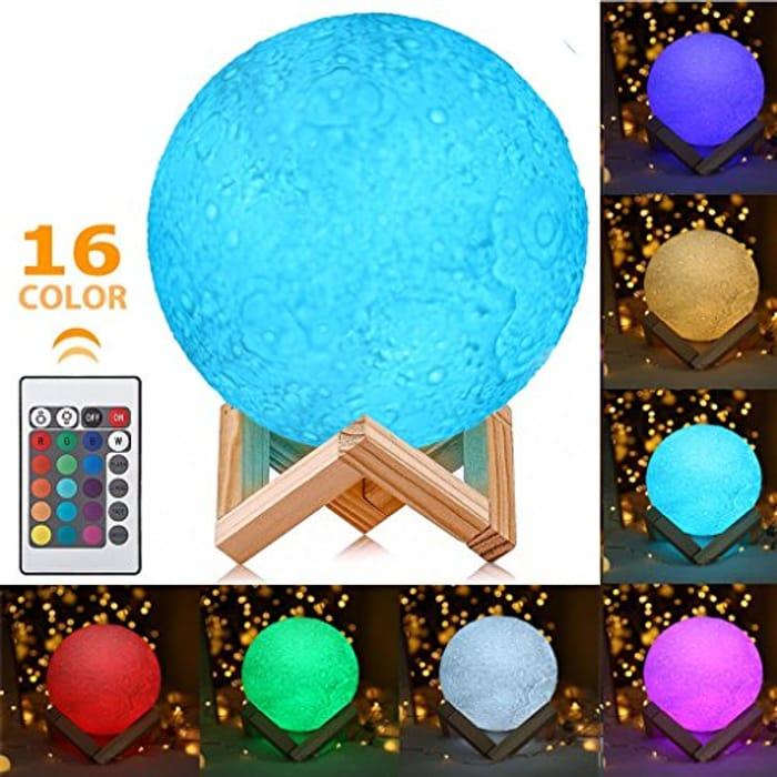 60% offBest Christmas Gift-Moon Lamp