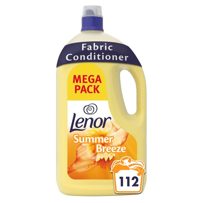 Lenor Fabric Conditioner Summer Breeze 3.92L 112 Washes