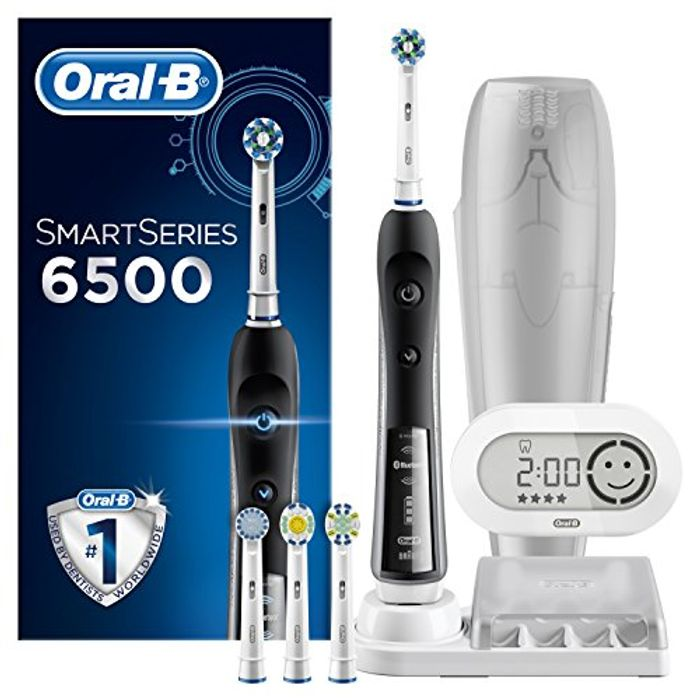 MASSIVE £165 SAVING at AMAZON! Oral-B SmartSeries 6500 Electric Toothbrush