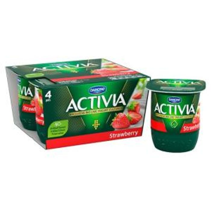 Activia - Pack of 4x125g for £1 at Tesco