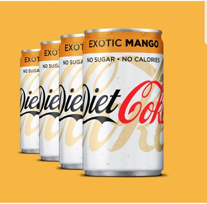 4 Free Cans of Mango Diet Coke